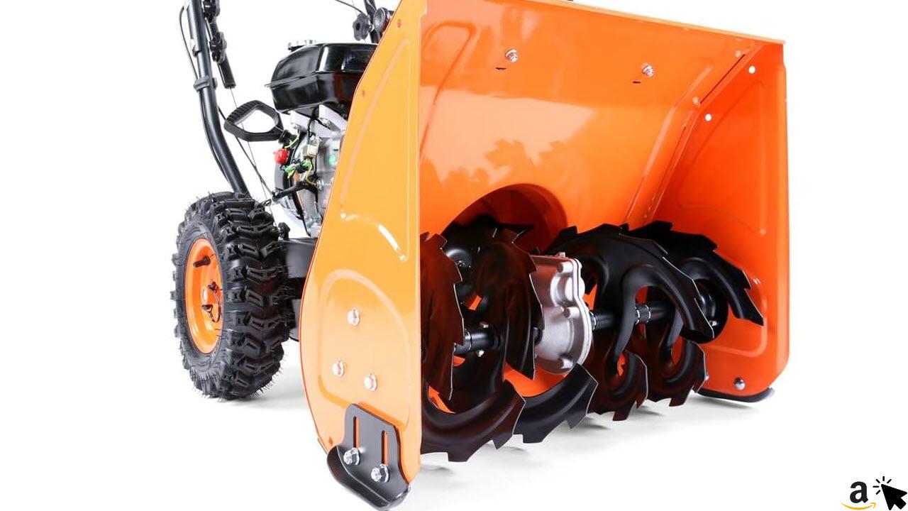 FUXTEC Benzin Schneefräse FX-SF1196 6,5 PS