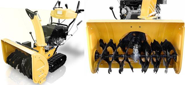 Holzinger Benzin Schneefräse HSF-110LE 11PS 2 Stufig mit Raupenantrieb