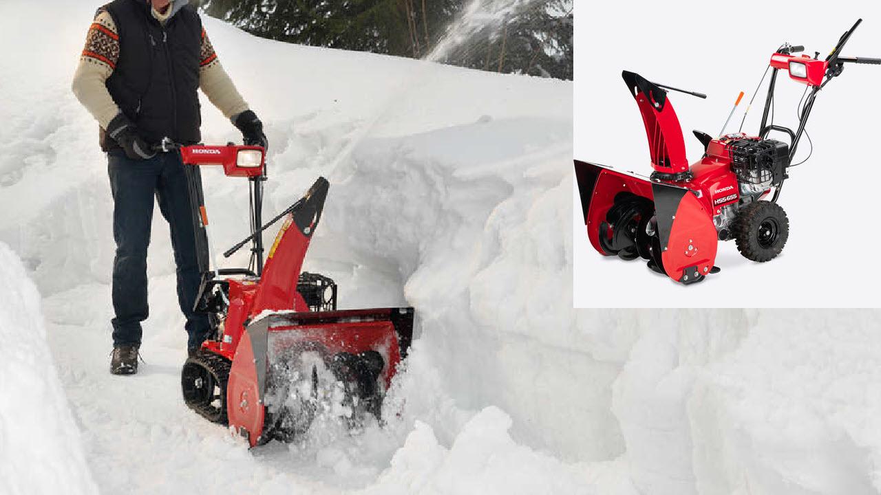 Honda Benzin Schneefräse 6er-Serie