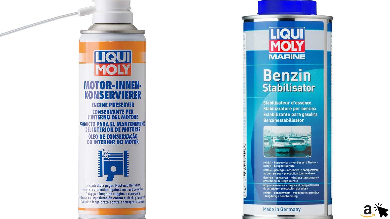 LIQUI MOLY 1420 Motor Innenkonservierer & Benzin Stabilisator