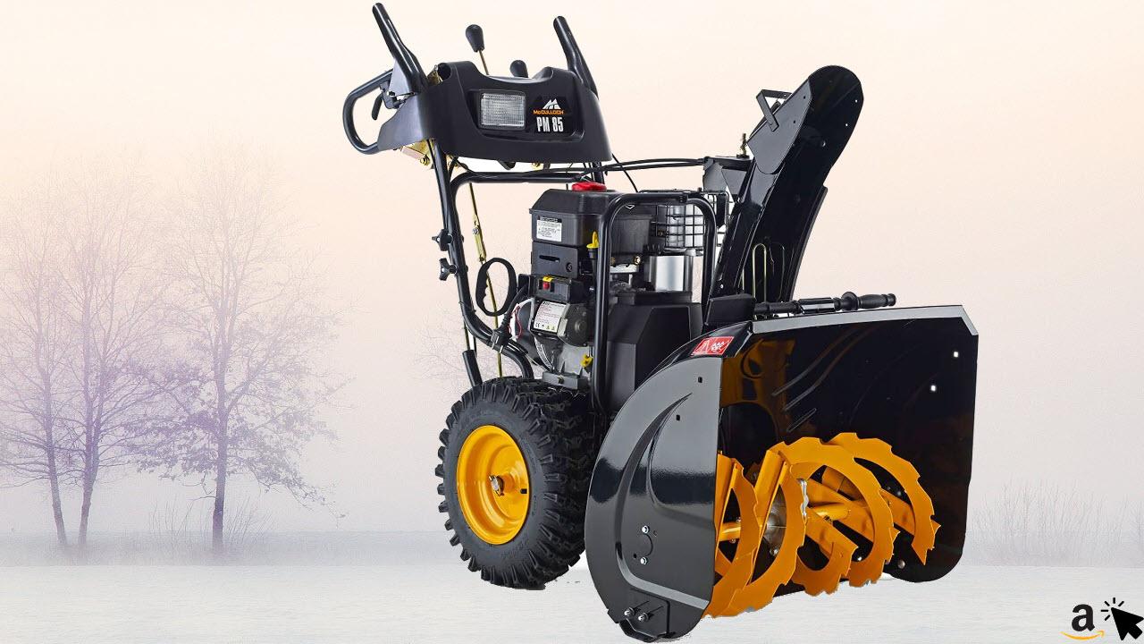 McCulloch Benzin Schneefräse PM 85, Vorwärtsgänge 6, Rückwärtsgänge 2, Briggs & Stratton Motor