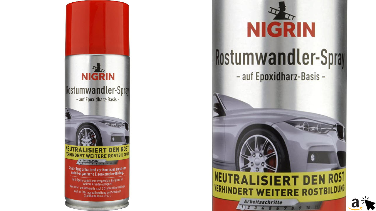 NIGRIN 74107 Rostumwandler Spray 400 ml
