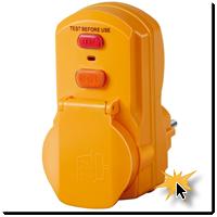 Steckdosen Personenschutzadapter