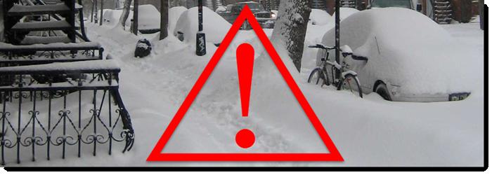 Gesundheitsgefahren beim Schneeschieben und Schneeräumen